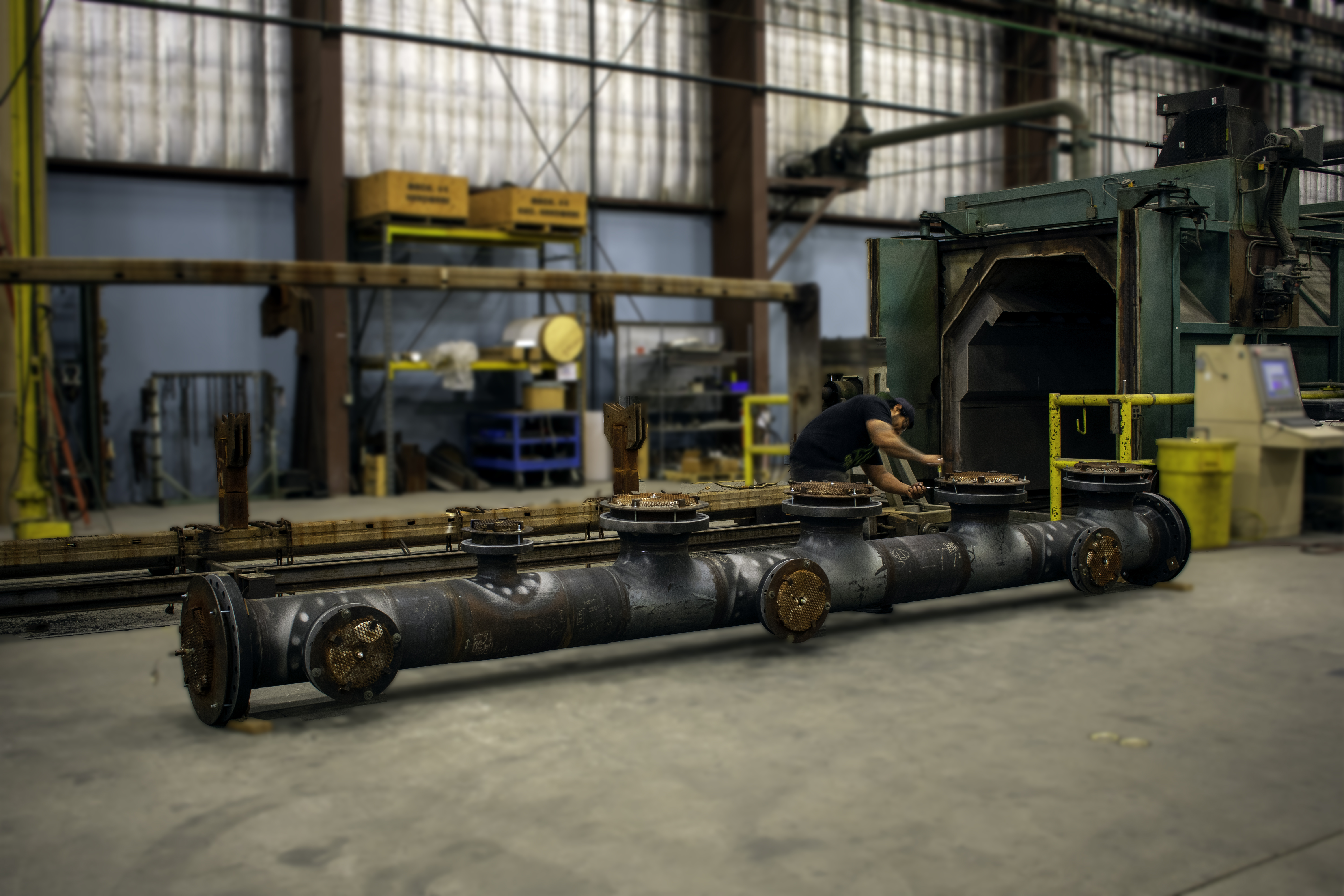 A multi flange pipe getting corrosion and abrasion-resistant liners