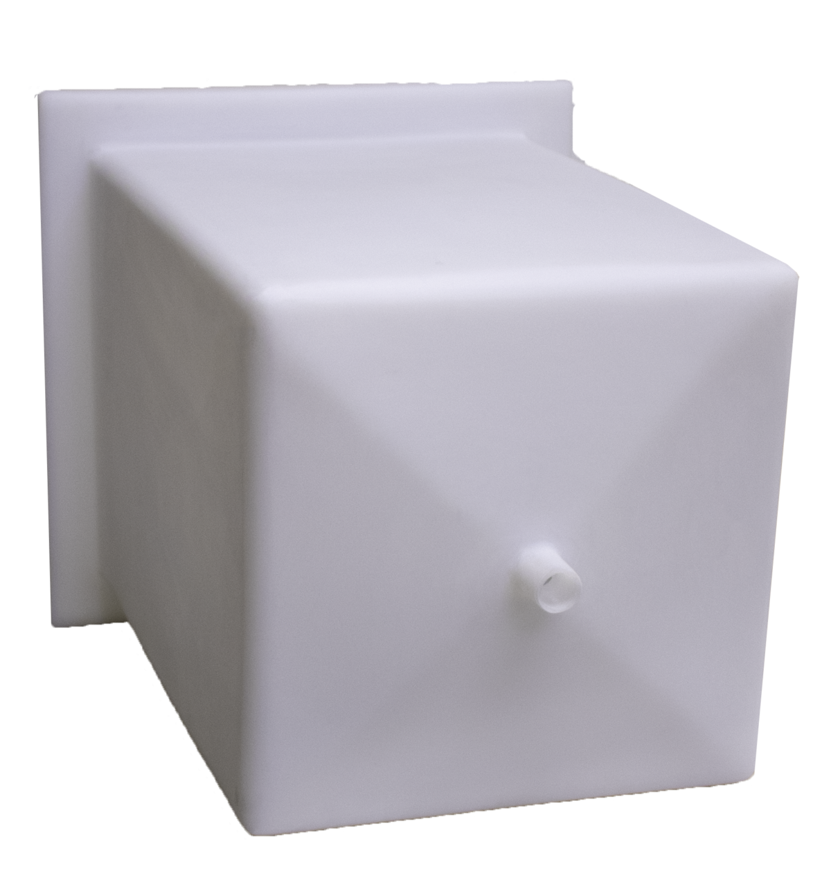A standard molded high purity tank